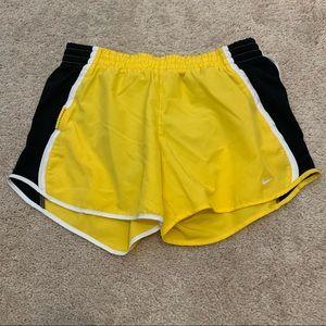 Small Yellow Livestrong Nike Shorts